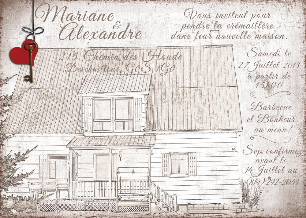 Maison bercail design graphique for Pendre la cremaillere cadeau